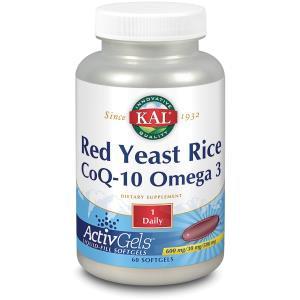 KAL RED RICE – Q10 – OMEGA 3 60perlas