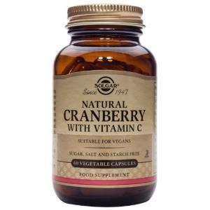 ARANDANO ROJO con vitamina C 60vegicaps de SOLGAR