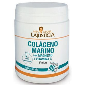 COLAGENO MARINO con MAGNESIO y VIT. C sandia 350gr
