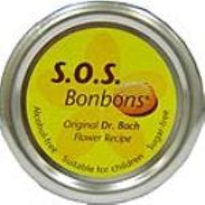 SOS flores de Bach bombons caramelos lata 50gr.