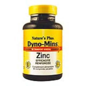 DYNO-MINS ZINC 15mg. 60 comp.
