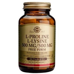 L-PROLINA 500mg./L-LISINA 500mg. 90comp.