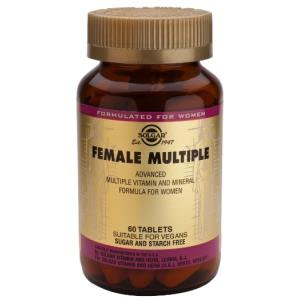 FEMALE MULTIPLE (compl.para la mujer) 60comp. de SOLGAR