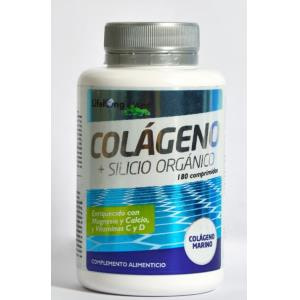 COLAGENO + SILICIO ORGANICO 180comp. de LIFELONG CARE