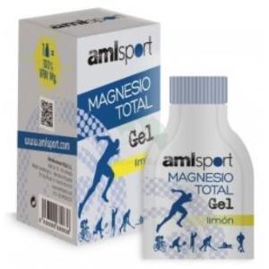 MAGNESIO total sabor limon 12sbrs.gel AMLSPORT de ANA MARIA LAJUSTICIA