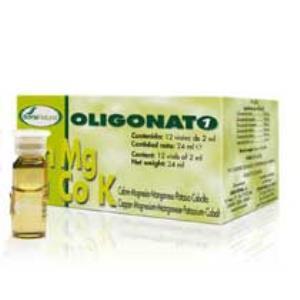 OLIGONATO 1 Cu+Mg+Mn+K+Co 12viales