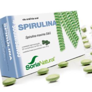 SPIRULINA 60comp. de SORIA NATURAL