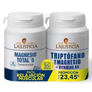 PACK RELAJACION MUSC triptofano-b6+magnesio total
