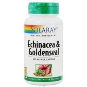 GOLDENSEAL & ECHINACEA 60cap. de SOLARAY