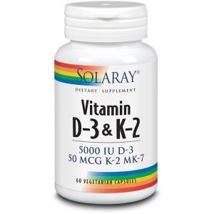 D3 & K2 (MK7) 60cap. de SOLARAY