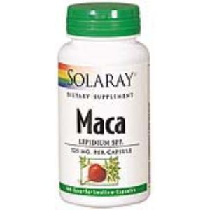 MACA 525mg. 100cap. de SOLARAY