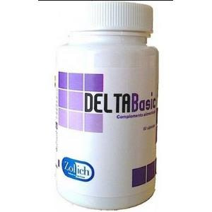 DELTABASIC (regulador ph) 60cap. de ZOLICH