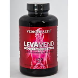 LEVAMEND (lev.arroz rojo-CoQ10) 120cap. de VBYOTICS