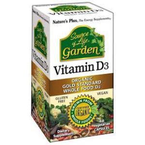 VITAMINA D3 Garden 60cap.