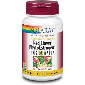 RED CLOVER phytoestrogen 30cap. de SOLARAY