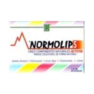 NORMOLIP 5 30cap. de TREPATDIET-ESI