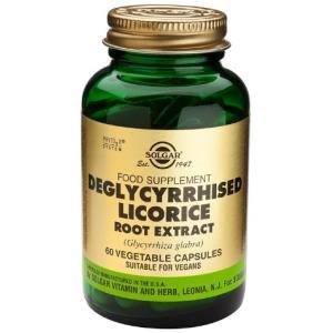 REGALIZ DESGLICIRRIZADO-raiz-(licorice) 60v de SOLGAR