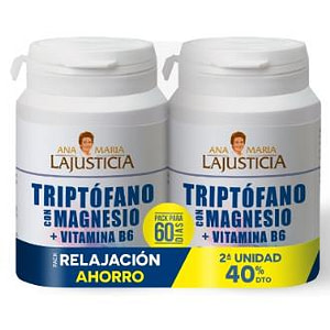 PACK TRIPTOFANO triptofano+mg+vit b6 2ud.